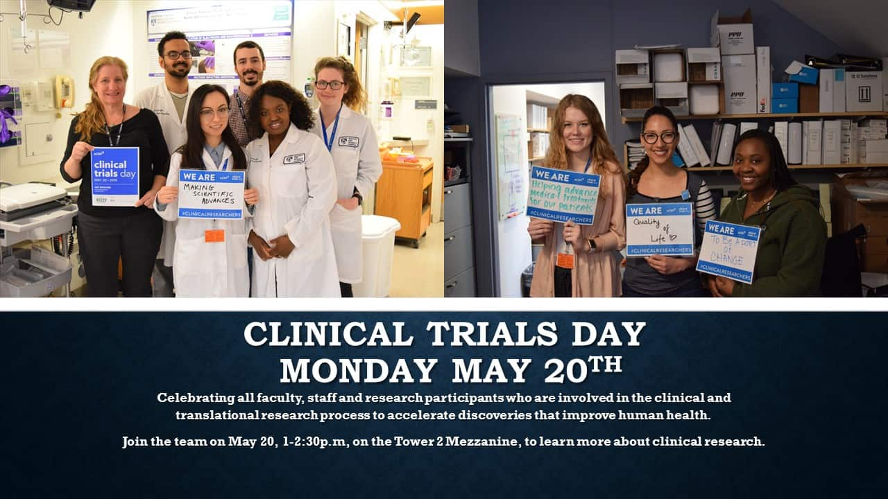 Clinical Trials Day 050719